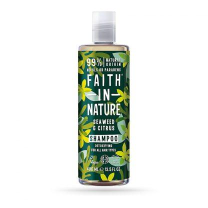 shampoo algas e citrinos