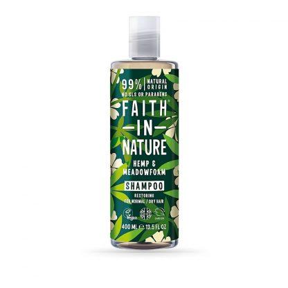 Shampoo Canhamo e espuma do campo