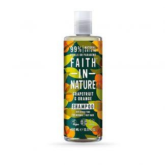 Shampoo de toranja e laranja