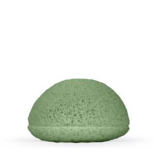 esponja konjac argila verde cha verde