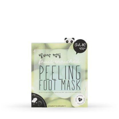 máscara de pés peeling