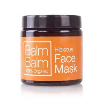 mascara facial de hibisco