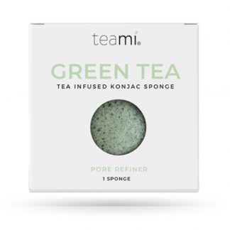 Esponja Konjac com Chá Verde