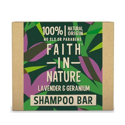 Shampoo Sólido Lavanda e Gerânio