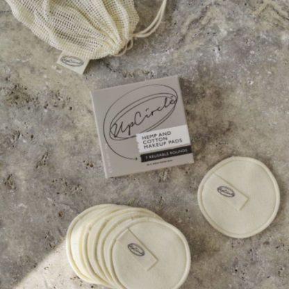 Discos de algodão upcircle 4