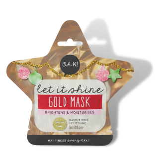 Let It Shine Gold Mask 1
